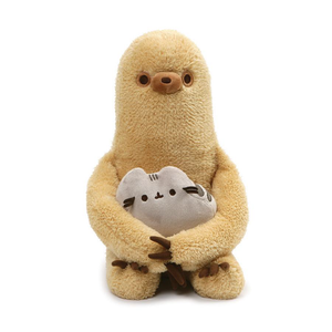Gund Sloth with Pusheen Plush | Toy Galeria