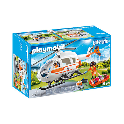 Playmobil City Life Rescue - Rescue Helicopter | Toy Galeria Singapore