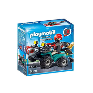 Playmobil City Action - Robber's Quad with Loot | Toy Galeria Singapore