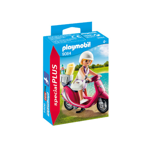 Playmobil Special PLUS - Beachgoer with Scooter | Toy Galeria Singapore