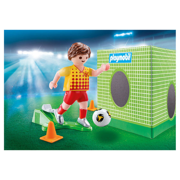 Playmobil Special PLUS - Soccer Player with Goal | Toy Galeria Singapore