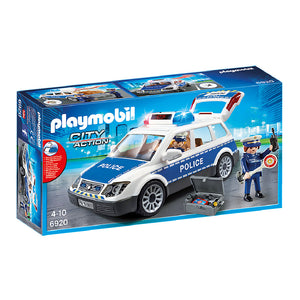 Playmobil City Action - Squad Car with Lights and Sound | Toy Galeria Singapore