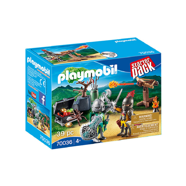 Playmobil StarterPack - Knight's Treasure Battle | Toy Galeria Singapore