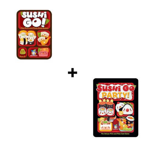 Gamewright Sushi Go! And Sushi Go! Party | Toy Galeria Singapore