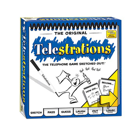 USApoly Telestrations Board Game | Toy Galeria