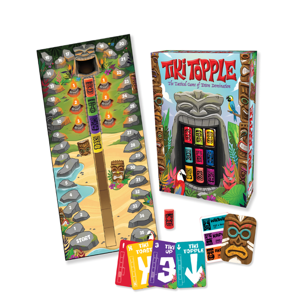 Gamewright Tiki Topple | Toy Galeria