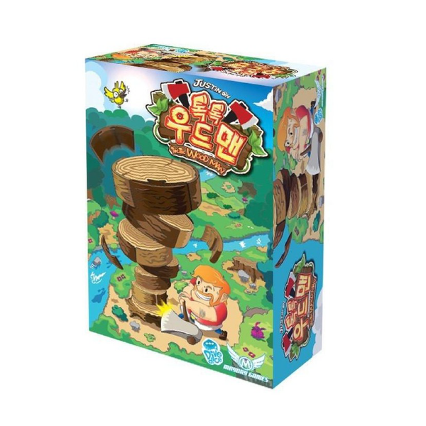 Korea Boardgames - Toc Toc Woodman | Toy Galeria Singapore