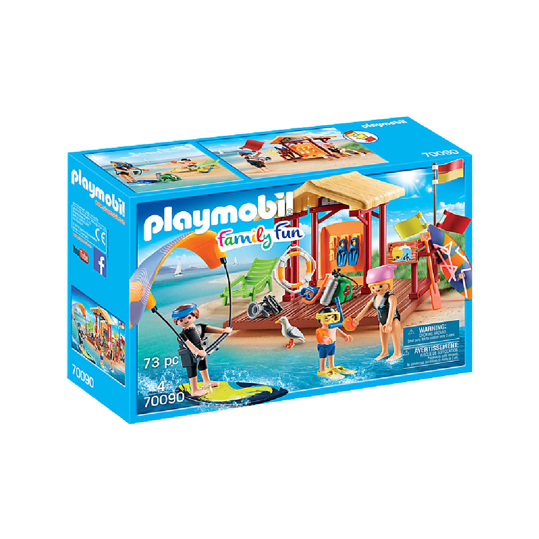 Playmobil Family Fun Camping - Water Sports Lesson | Toy Galeria Singapore