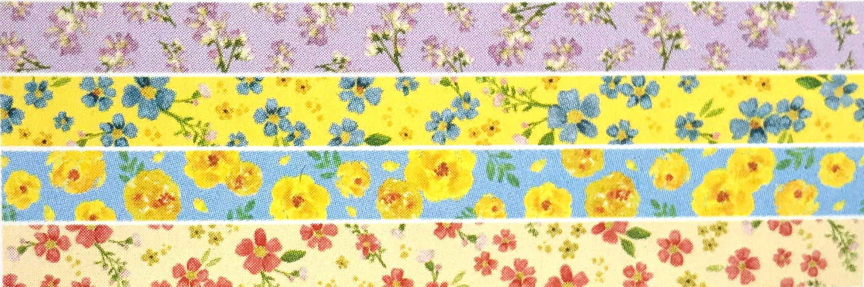 Flower Pattern Washi Tape