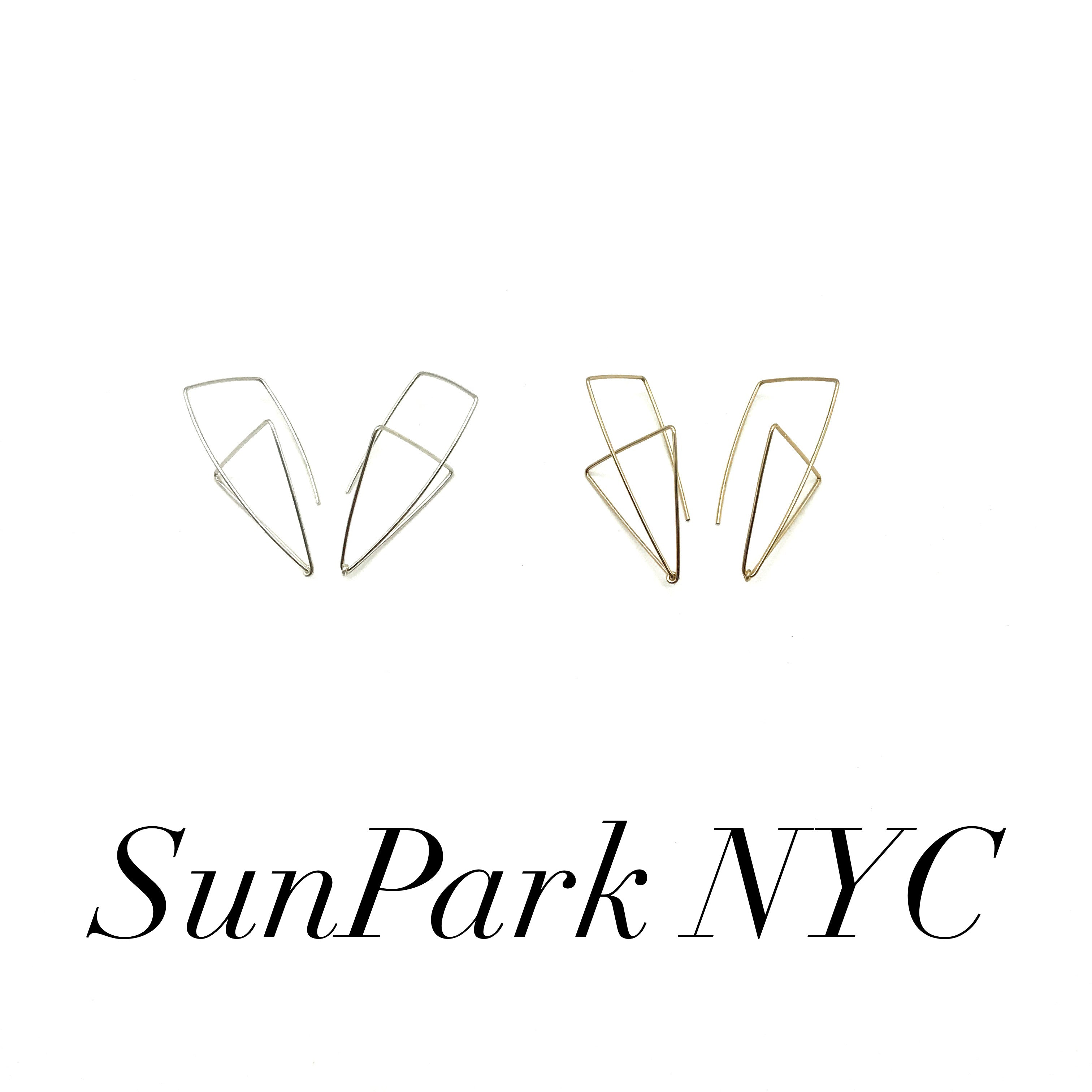 SunPark NYC Signature 3D Earrings