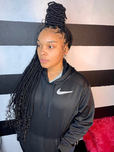 Goddess Locs (Hair Included) ($385.00)