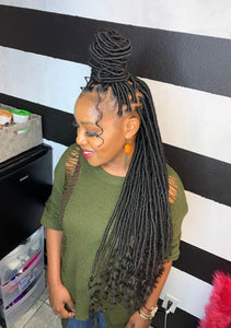 Goddess/Faux/Bohemian, & Nu Loc Touch Up ($125.00)