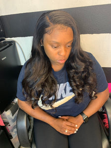 Lace Frontal Install ($225.00) - Beautybybailee.com