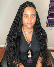 Load image into Gallery viewer, Goddess Locs (Hair Included) ($350.00) - Beautybybailee.com