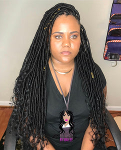 Goddess Locs (Hair Included) ($350.00) - Beautybybailee.com
