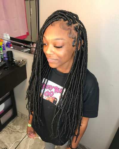 Faux Locs (Hair Included) ($350.00) - Beautybybailee.com