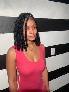Boho Bob Distressed Locs (Hair Included) ($395.00)