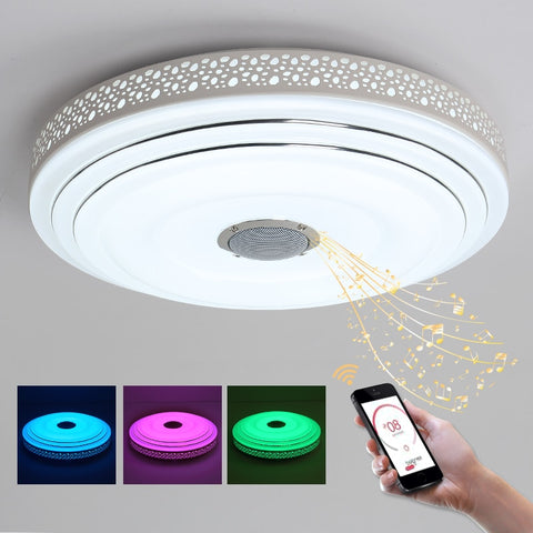 Bluetooth Color Changing Ceiling Chandelier Light