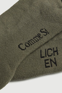 Comme Si x Lichen Everyday sock (Lichen Green)