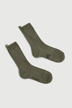 Load image into Gallery viewer, Comme Si x Lichen Everyday sock (Lichen Green)