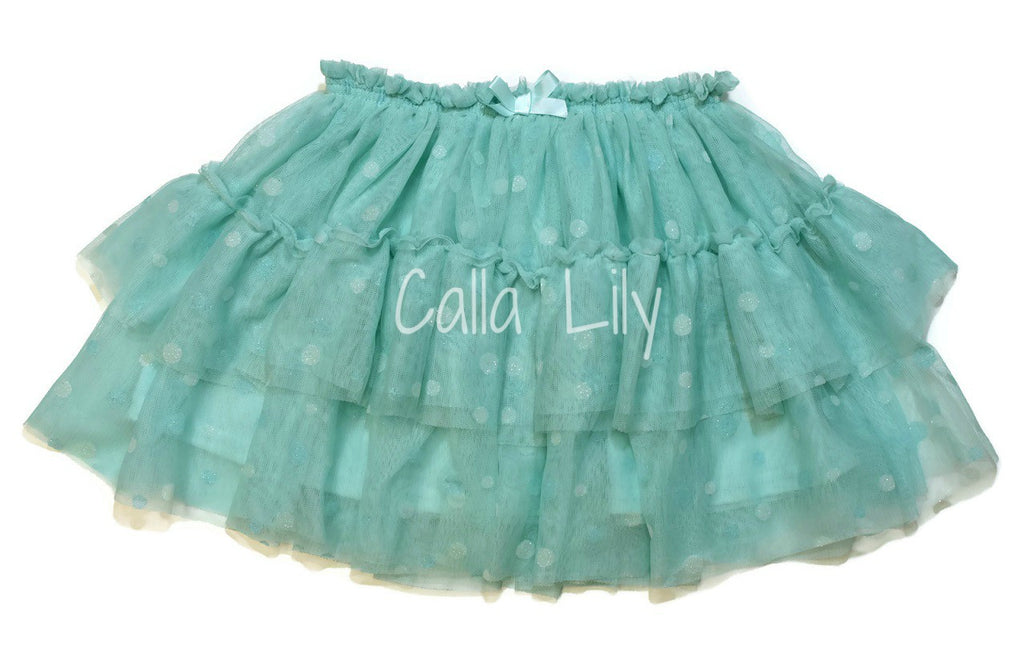 Dot Tutu W/ Ribbon