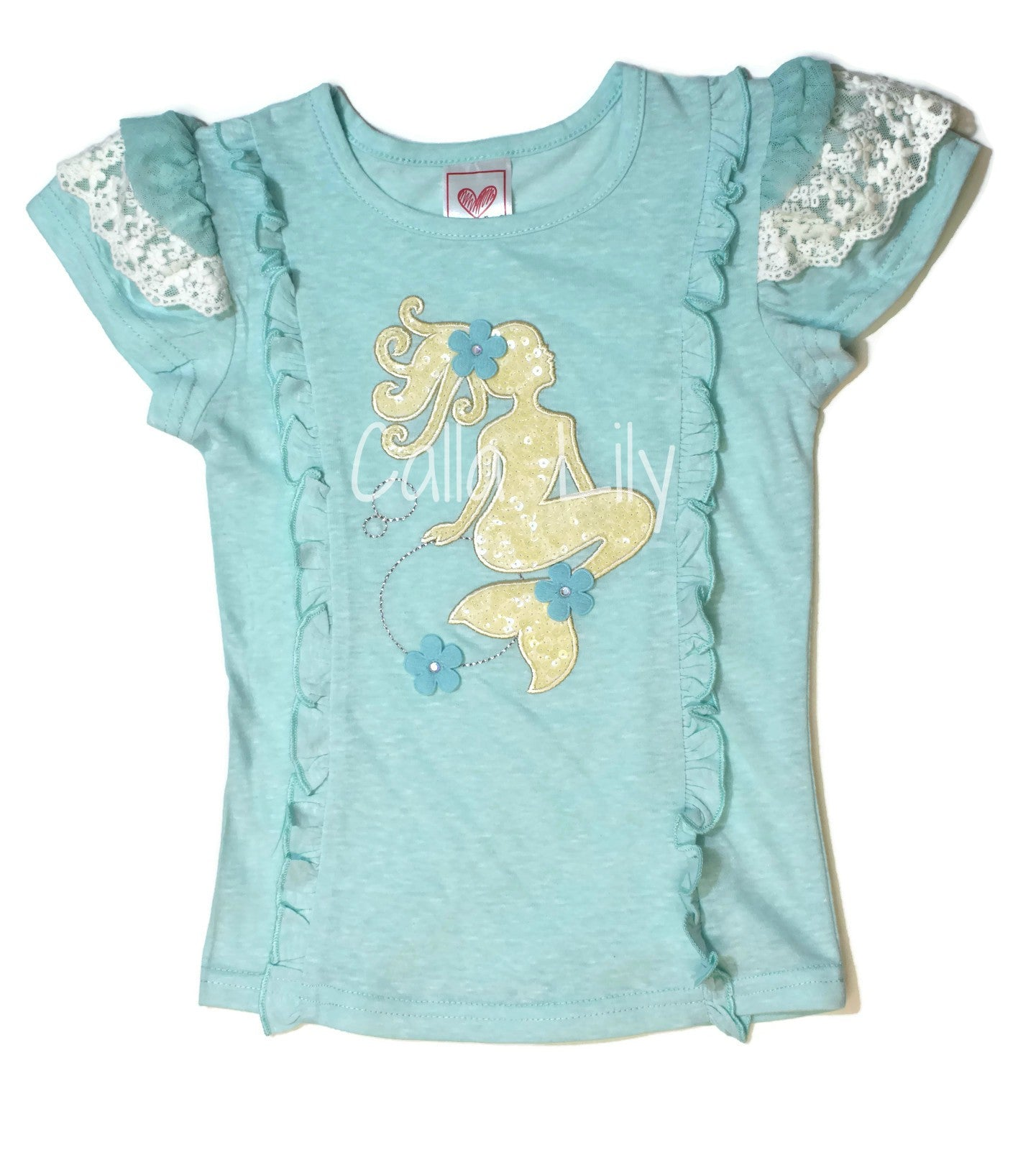 Mermaid Silhouette Tee