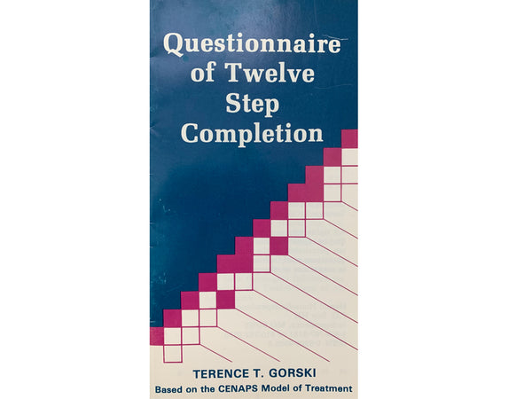 Questionnaire of Twelve Step Completion