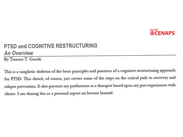PTSD and Cognitive Restructuring - An Overview