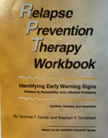 Relapse Prevention Therapy Workbook