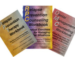 3 Different Gorski Relapse Prevention Workbooks - Save 10%
