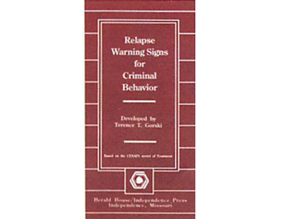 Relapse Warning Signs for Criminal Behavior