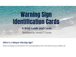 Relapse Warning Sign Cards - Information and cards- for Professional Use
