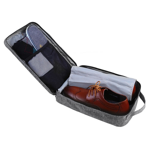 Portable Travel Shoe Bags with Zipper Closure