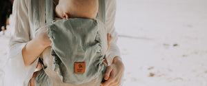 Natural Linen Baby Carrier