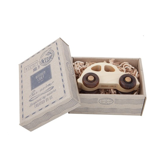 Wooden Story wooden 30's toy car