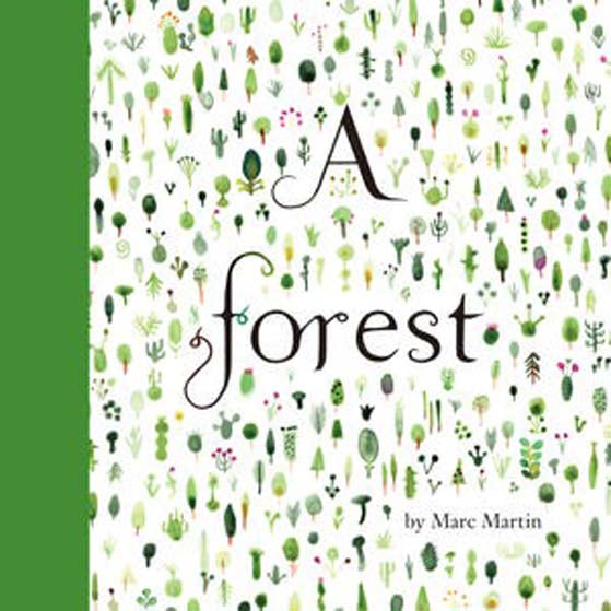 A Forest - children's book by Marc Martin
