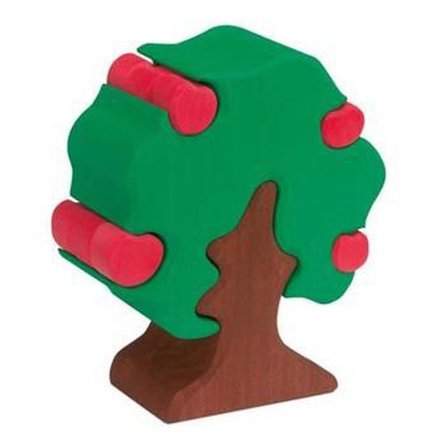Gluckskafer wooden apple tree puzzle