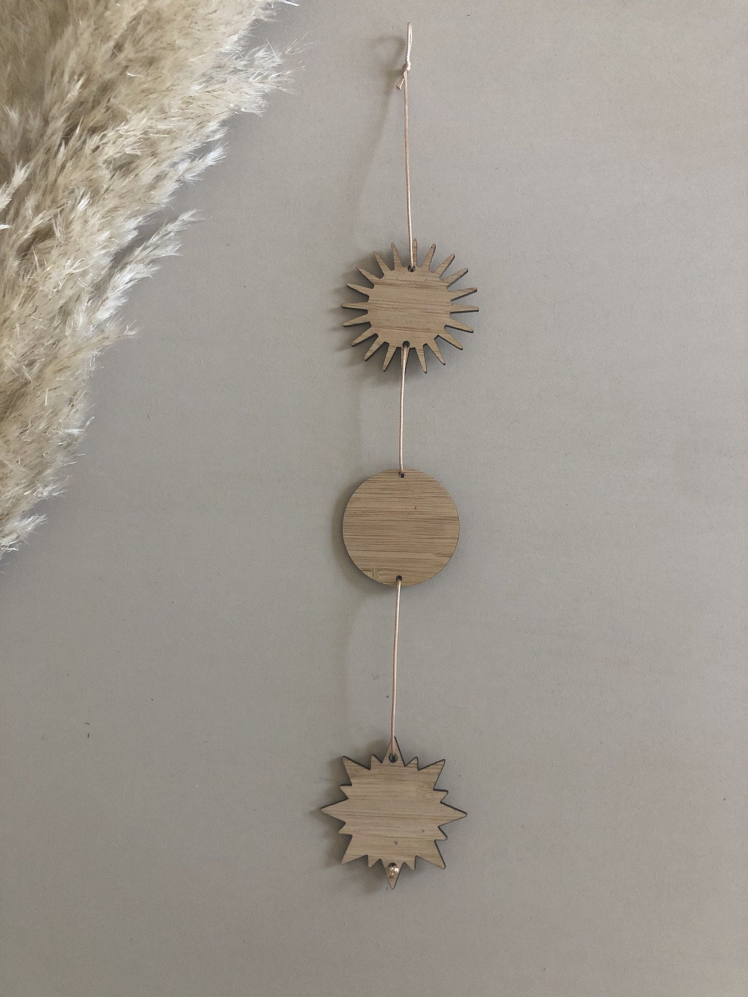 A Sun, a Moon, a Star Wall Hanging