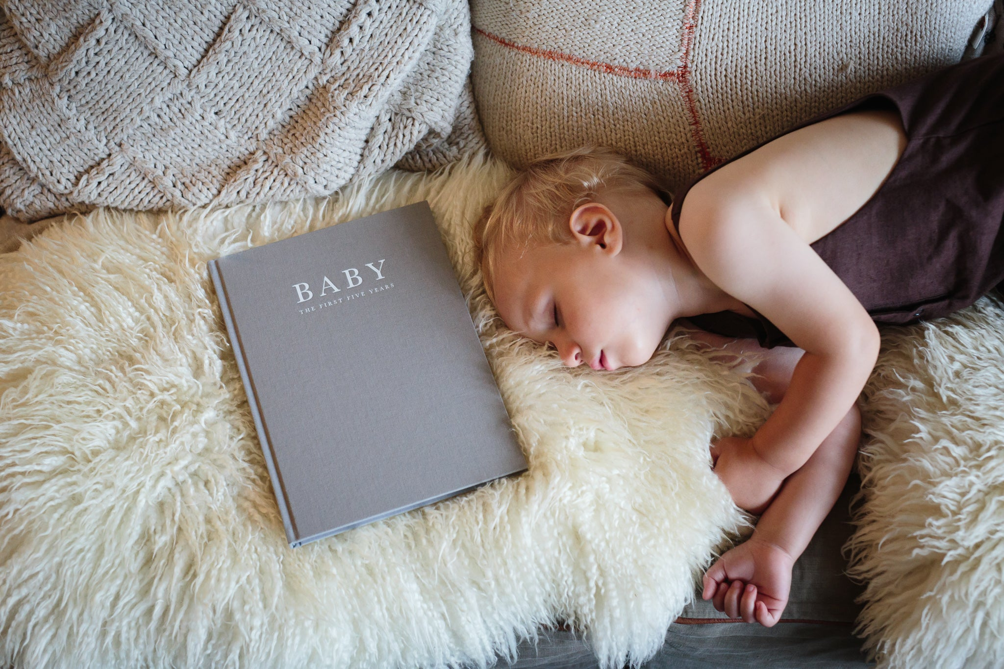 Write to Me Birth to Five Years Baby Journal and Sleeping Baby
