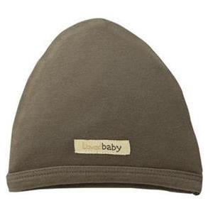Loved Baby organic cotton cute cap in bark brown