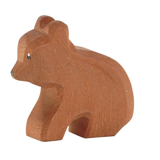 Ostheimer wooden animals - small bear, sitting