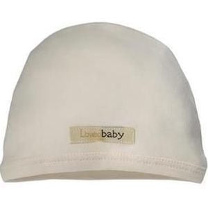 Loved Baby organic cotton cute cap - beige