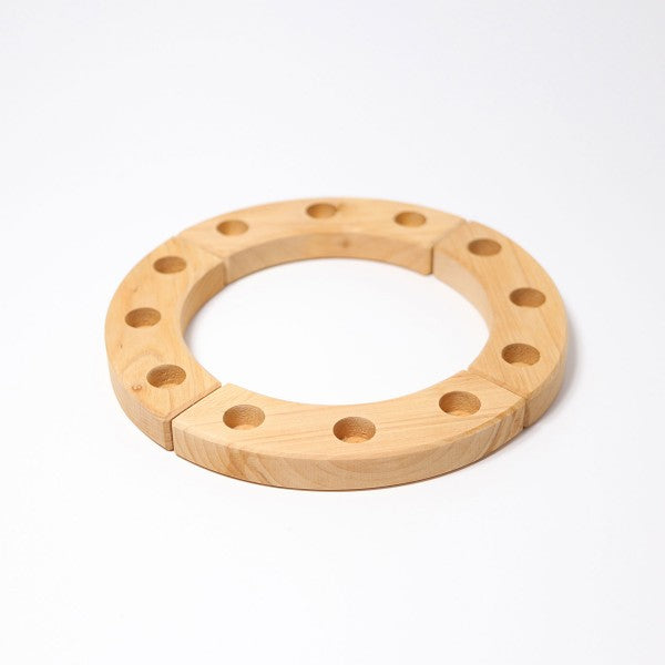 Grimm's wooden birthday ring 12 hole