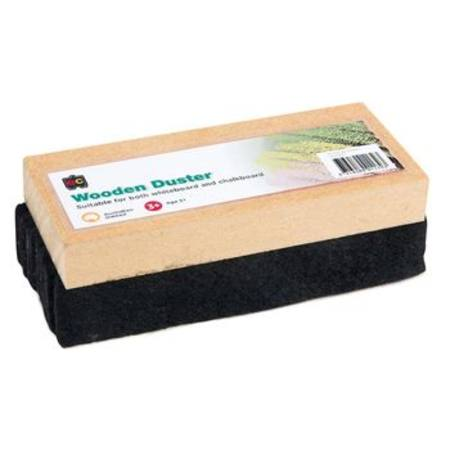 Educational Colours Wooden Blackboard Duster