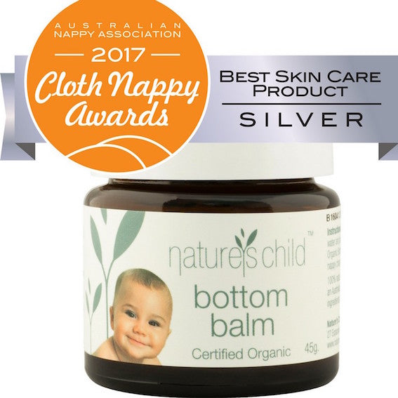 Nature's Child certified organic bottom balm
