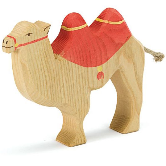 Ostheimer Camel with Saddle - Kings Animals Series 2