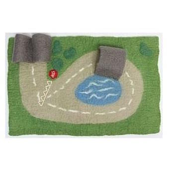 Papoose Felt Car Play Mat