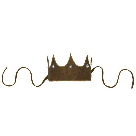 Numero 74 Carolina Lace Crown - Gold