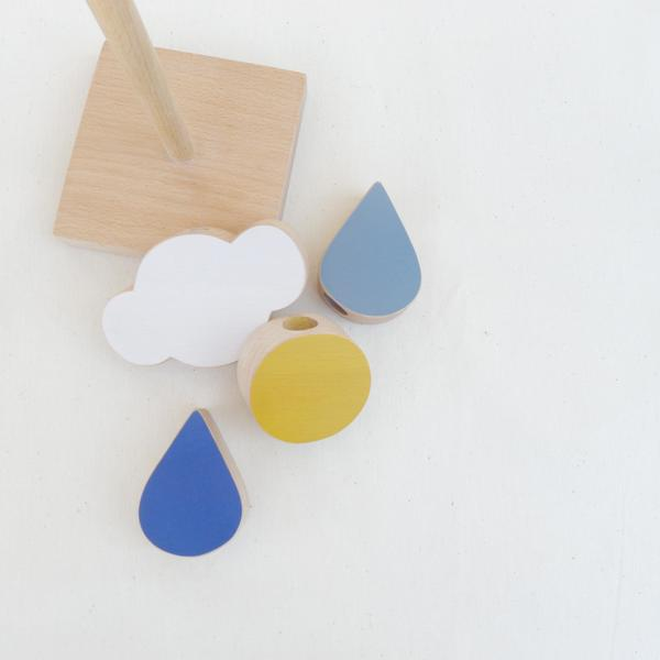The Wandering Workshop deconstructed Catch the Cloud stacking toy