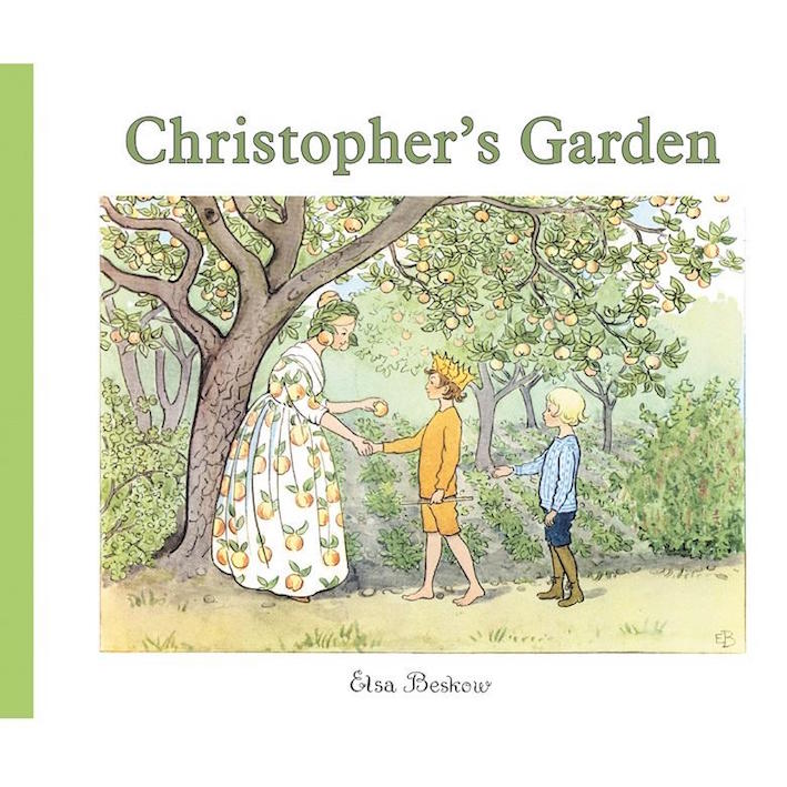 Christopher's Garden - book by children's author Elsa Beskow